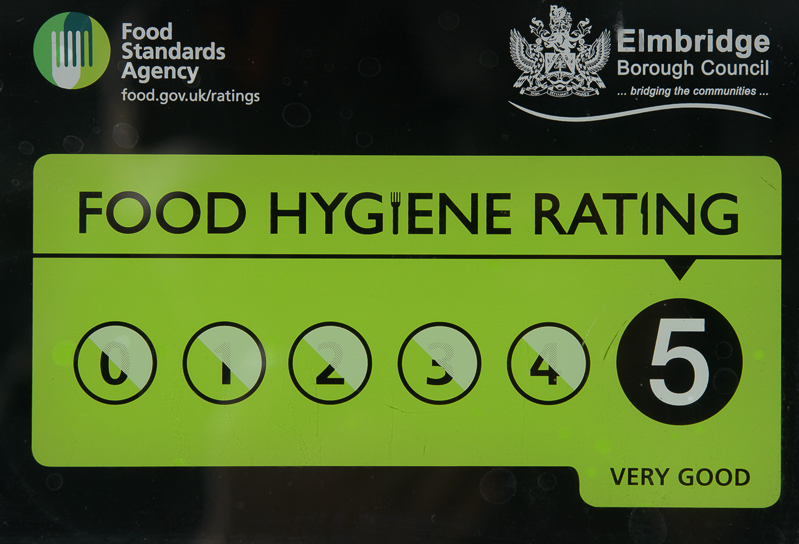 5 Star Food Hygiene Rating for Mezzet